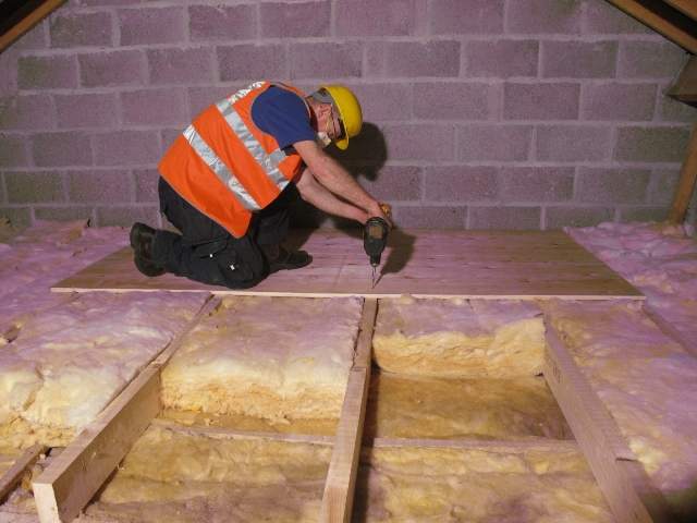 Raised storage area professionally fitted & Attic Insulation: Over 10000 jobs done | Premierinsulations.com