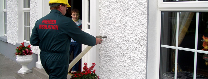 Kinnitty Cavity Wall Insulation